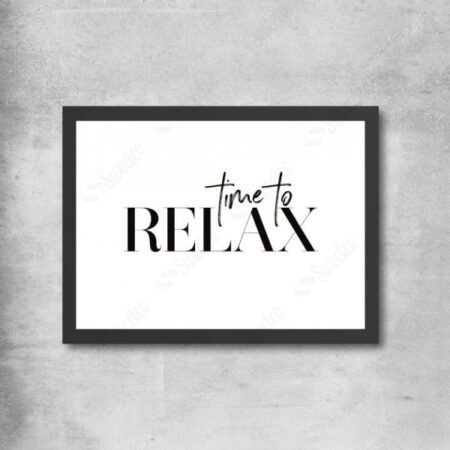 Time To Relax Typo
