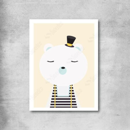 White Bear with Hat