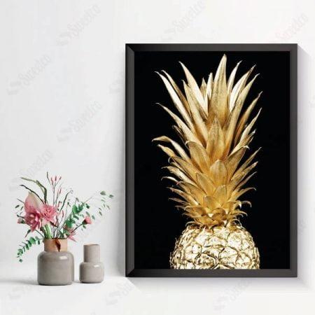 Gold & Black Pineapple