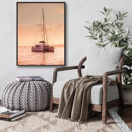 Pink Sailboat XL