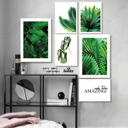 Green Areca Leaves XL