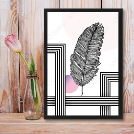 Shapes And Feather XL