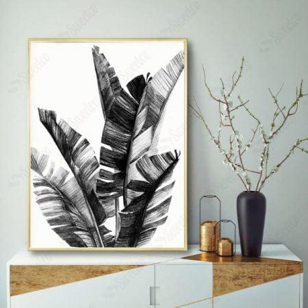 Black  Leaves 1 XL