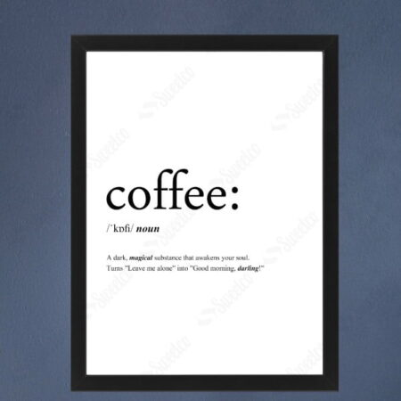 Coffee Noun XL