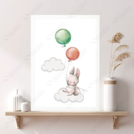 Balloon and Rabbit No2