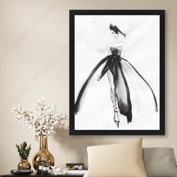 Watercolor Ballerina XL