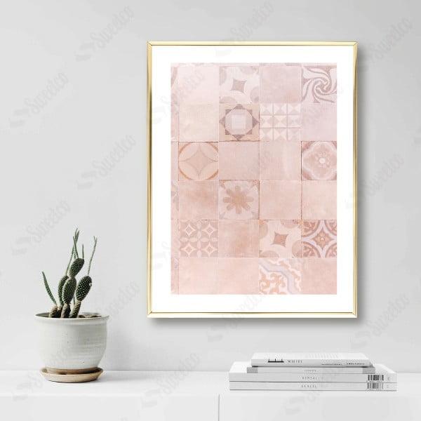 Pink Tile Pattern