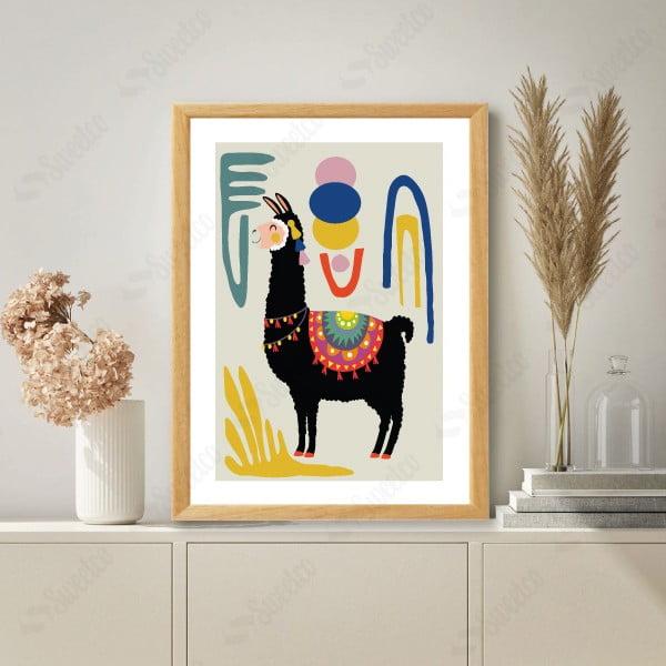 Colourful Lama