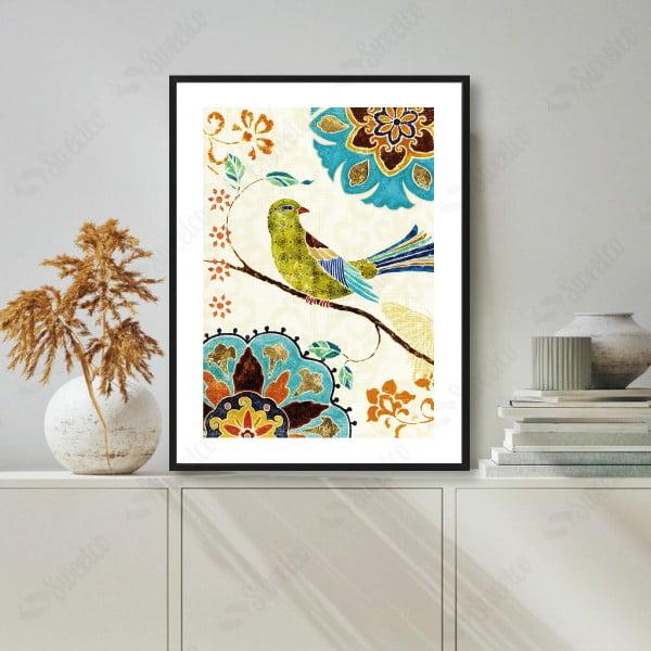 Colourful Bird No1