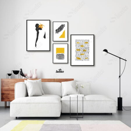 Black & Yellow Set