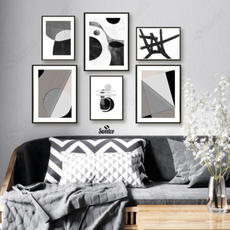 Black Abstract Set