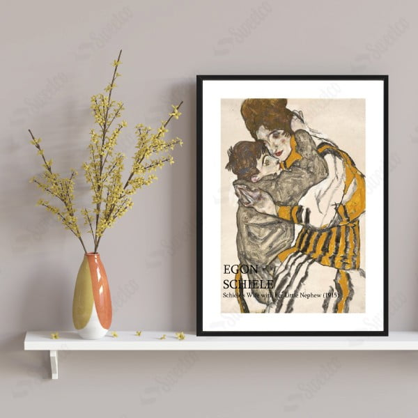 Egon SCHIELE / Schiele's Wife with Her Little Nephew