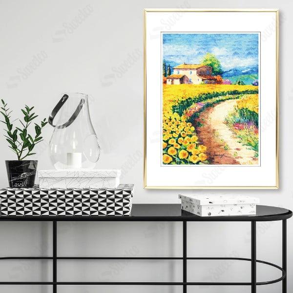 Yellow Scenery No1