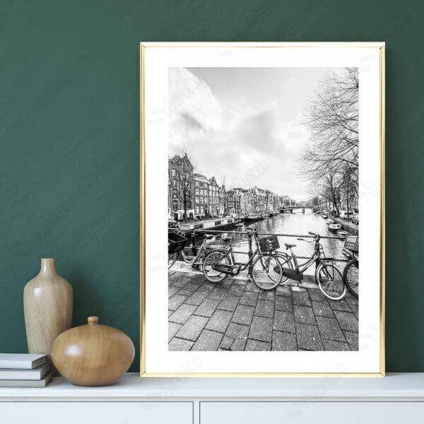 Bw Street In Amsterdam