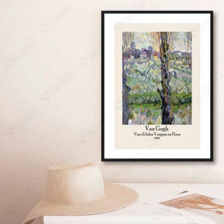 Van Gogh Vue d'Arles Vergers en Fleur