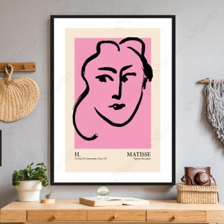 Henri Matisse Pink Series No1