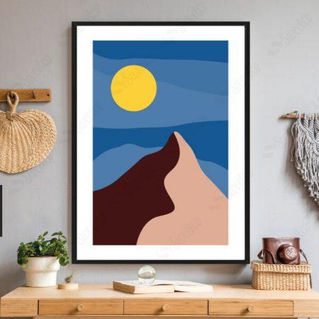 Illustration Full Moon