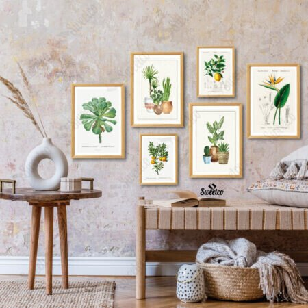 Vintage Botanic Set
