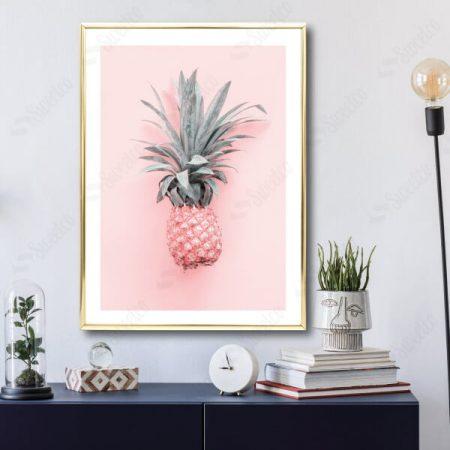 Soft Pink Pineapple