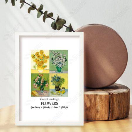 Flowers of Vincent van Gogh