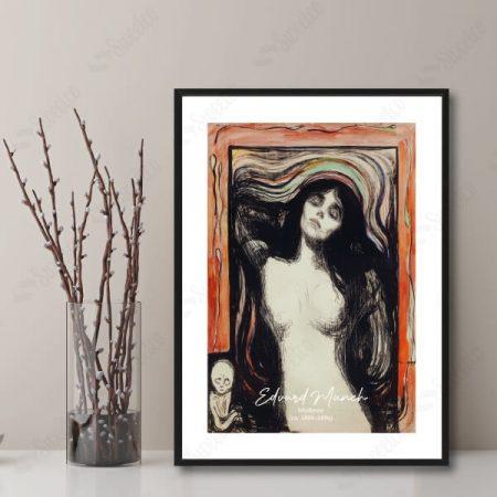 Madonna (ca. 1895–1896) by Edvard Munch