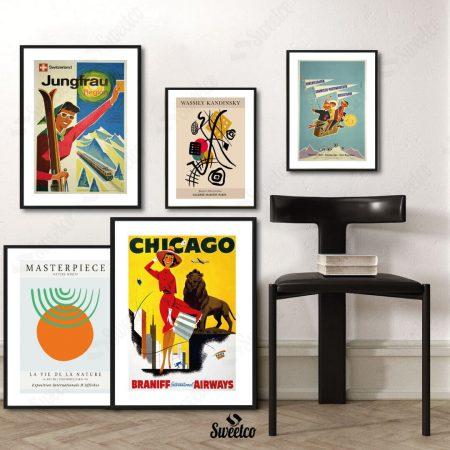 Vintage Pop Art Set