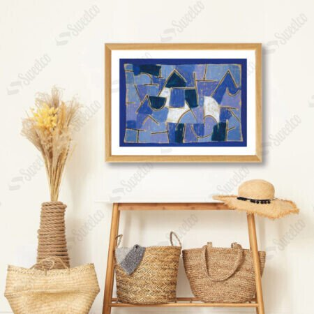 Blue Night 1937 by Paul Klee