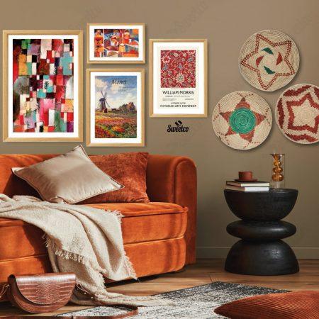 Orange Art Set