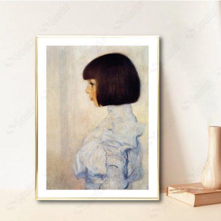 Portrait of Helene Klimt by Gustav Klimt