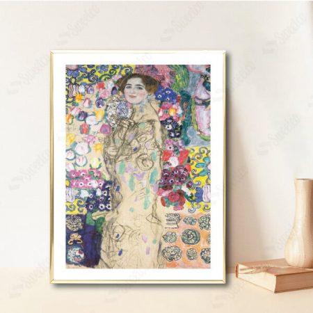 Portrait of Maria Munk by Gustav Klimt
