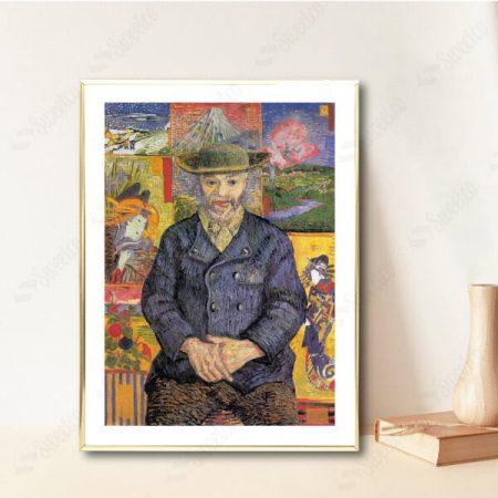 Portrait of Père Tanguy 1887 by Vincent van Gogh