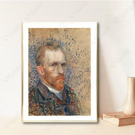 Self Portrait 1887 by Vincent van Gogh