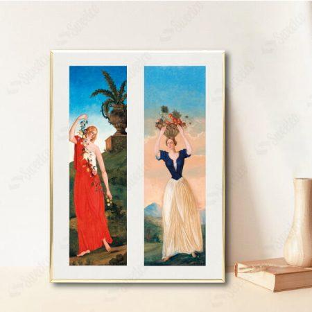 The Four Seasons by Paul Cézanne No1