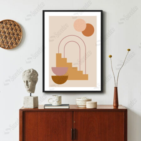Trendy Abstract Shapes No2