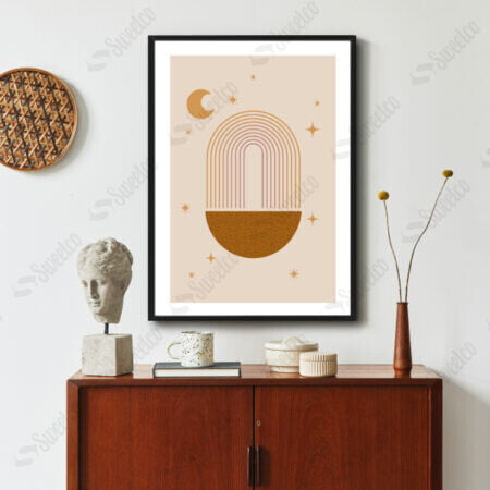 Trendy Abstract Shapes No3
