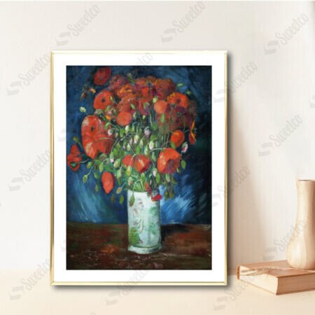Vase with Poppies by Vincent van Gogh