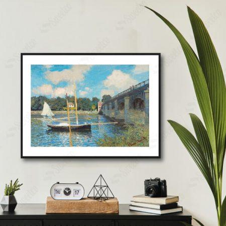 The Bridge at Argenteuil 1874 by Claude Monet