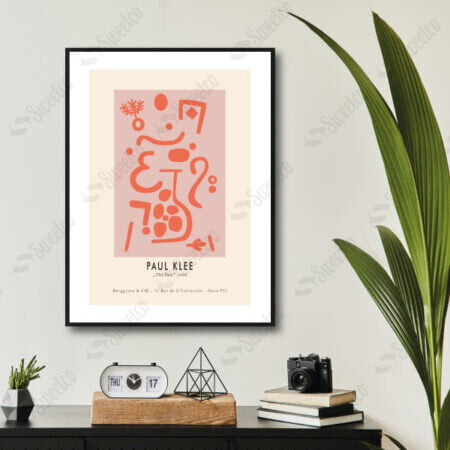 The Vase by Paul Klee